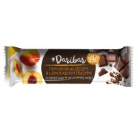 Протеиновый глазированный батончик 30% (Персиковый десерт), 40г