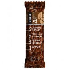 Протеиновый батончик, со вкусом кофе с арахисом, 40г