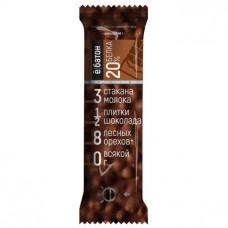 Протеиновый батончик, со вкусом шоколада, 40г