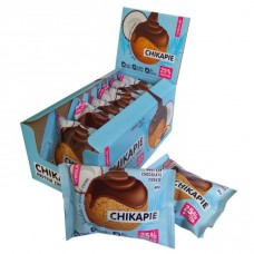 CHIKALAB Печенье глазированное с начинкой, 60г (Кокосовое)