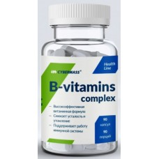 B-vitamins complex, 90 caps