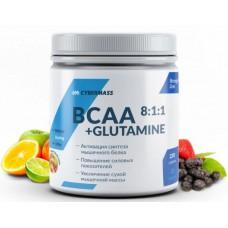 BCAA 8:1:1 + Glutamine, 220g (Фруктовый пунш)