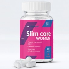 Slim core women, 100caps