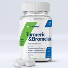 Turmeric & Bromelain, 90 caps