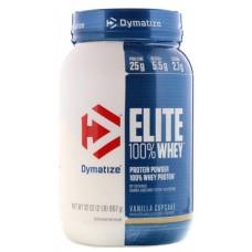 Elite 100% Whey, 907g (Gourmet Vanilla)