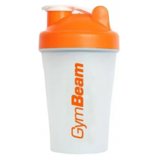 Shaker GymBeam orange, 400 ml