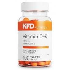 Vitamin D3+K2 (MK-7), 100 tabs