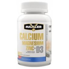 Calcium Magnesium Zinc + D3, 90 tabs