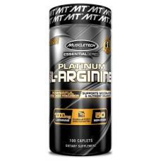 Platinum 100% L-Arginine, 100 capl