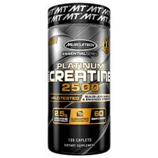 Platinum 100% Creatine 2500, 120 caplets