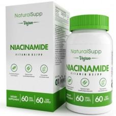 NIACINAMIDE B3 (Никотинамид), 60caps