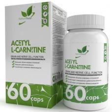ACETYL L-CARNITINE (АЦЕТИЛ КАРНИТИН), 60caps