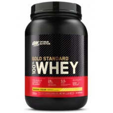 100% Whey Gold Standard, 907g (Banana Cream)