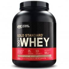 100% Whey Gold Standard, 2.27kg (Mocha Cappuccino)