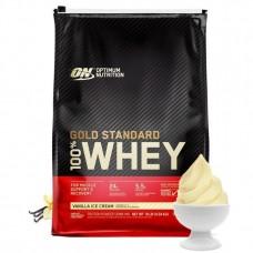 100% Whey Gold Standard, 4.54kg (Vanilla Ice Cream)