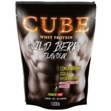 Whey protein CUBE, 1000 гр. (Лесные ягоды)