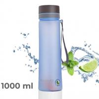 Бутылка для воды CASNO, 1000 мл (Голубая)