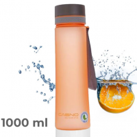 Бутылка для воды CASNO, 1000 мл (Оранжевая)