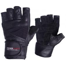 Перчатки для фитнеса PowerPlay 2042 Черные