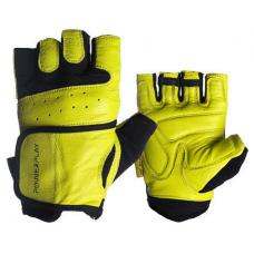 Перчатки для фитнеса PowerPlay 2229 Желтые