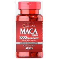 Maca 1000 mg Exotic Herb for Men, 60 caps