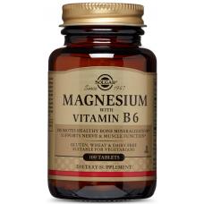 Magnesium with Vitamin B6, 100 tabs