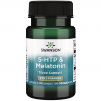 5-HTP & Melatonin, 30 caps