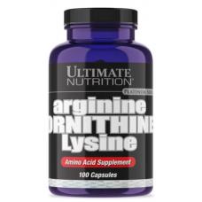 ARGININE ORNITHINE LYSINE, 100 caps