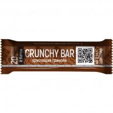 Протеиновый батончик CRUNCHY BAR, со вкусом шоколада, 40г