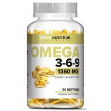 Omega 3-6-9, 90 softgels