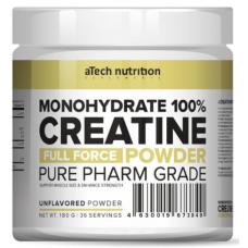 CREATINE MONOHYDRATE 100%, 180 г (Без вкуса)