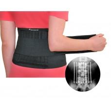 Бандаж на спину с гибкими стальными спицами