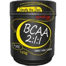 BCAA 2:1:1, 500g
