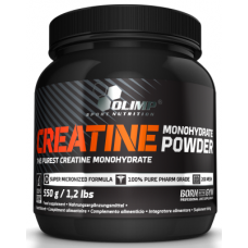 Creatine monohydrate powder, 550g