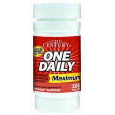 One Daily Maximum, 100tabl