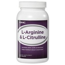 L-Arginine & L-Citrulline, 120 Caplets