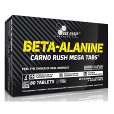 Beta-Alanine CARNO RUSH, 80 tabs