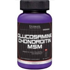Glucosamine & Chondroitin MSM, 90 tabs