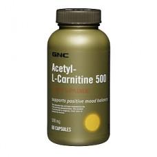 ACETYL L-CARNITINE 500 60 caps