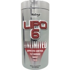 Lipo-6 Unlimited, 120 liqui-caps