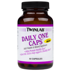 Daily One Caps Without Iron, 60 caps