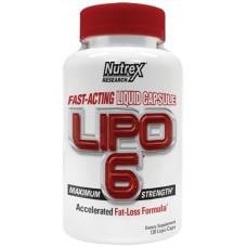 Lipo-6, 120 Liqui-Caps