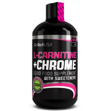 L-Carnitine+Chrome Liquid, 500 ml.