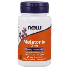 Melatonin 3 mg, 60 veg caps