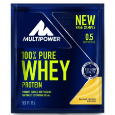 100% PURE WHEY PROTEIN, 15g