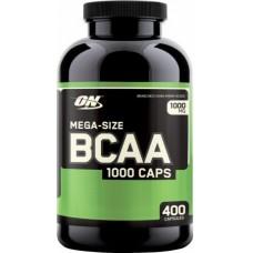 BCAA 1000, 400 caps.