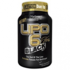 Lipo-6 Black Hers, 120 Multi-Phase Capsules