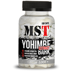 Yohimbe Bark (8% Extract Йохимбе), 100caps