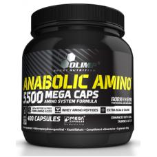Anabolic AMINO 5500 mega caps, 400 caps
