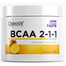 BCAA 2-1-1, 200g. (Lemon)